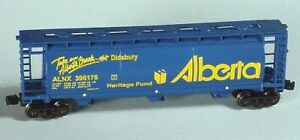 Z Scale ALBERTA Heritage Fund Cylindrical Hoppers 2-pk.#3 FT NIB