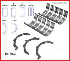 Engine Crankshaft Main Bearing Set ENGINETECH, INC. BC393J.25