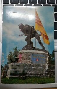 Saigon the Unknown Heroes Monument Vintage Postcard