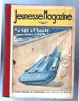 JEUNESSE MAGAZINE album éditeur n°3 - n°27 à 39 de 1937 PELLOS. Scoutisme