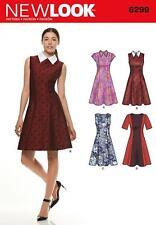 Nuevo aspecto patrón de costura misses » Vestido Escote & Manga variaciones 8 - 20 6299