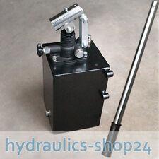 Hydraulik Handpumpe einfachwirkend und doppeltwirkend 25-45ccm + Handhebel 60cm