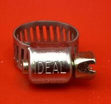 """10 Ideal Hose Clamps 5/16"""" - 5/8"""" Sae Size #04 #5202 Free Ship"""