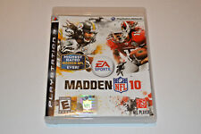 Madden NFL 10 (Sony PlayStation 3, 2009) EA SPORTS Video Game