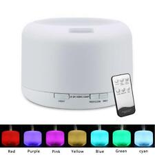 500ML Essential Oil Diffuser Humidifier Aroma Air Ultrasonic Electric Home + Cup