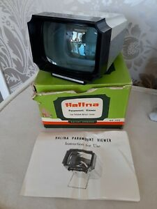 Vintage Halina Paramount Slide Viewer.