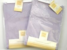 2x Lollipop Lane molleton LANDAU / Berceau couvertures pâle mauve 70cm x 90cm