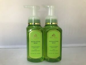 2pcs Bath & Body Works EUCALYPTUS MINT Gentle Foaming Hand Soap