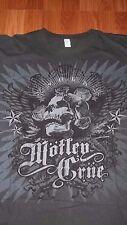 XXL (1 Sided) Motley Crue T-Shirt S.O.L.A. hard rock Concert Band Los Angeles
