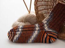 dicke Socken, Damensocken, Wollsocken mit Seide, handgefärbt, Handarbeit, 38-39