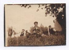 PHOTO ANCIENNE Appareil Photographié Caméra Photographe Vers 1920 Autoportrait