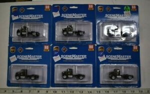 Lot 9-237 * HO Scale Walthers Scenemaster 6 x 949-11193 Single Axle Semi Tr. UPS