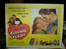 GOING STEADY, orig LCS [Molly Bee, Alan Reed Jr., Irene Hervey, Bill Goodwin]