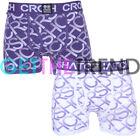 2 / Paquete de 3 Hombre Crosshatch Diseño Shorts BOXERS CALZONCILLOS MULTIPACK