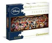 1000 Piece Disney Panorama & Harry Potter Briefcase Jigsaw Puzzle by Clementoni