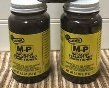 Lot of 5- Gunk C105 M-P Radiator Sealant and Conditioner - One Each, 5.5 oz.