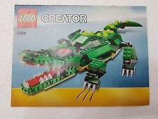 MANUALE ISTRUZIONI LEGO 5868 CREATOR ALLIGATOR - ONLY MANUAL