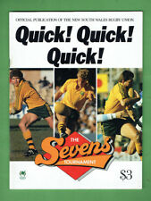 #Vv. Rugby Union Program - The Sevens Tournament 1987