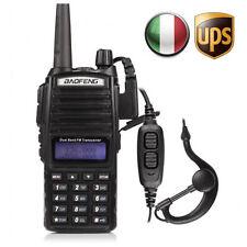 UPS Baofeng UV-82L DOPPIO PTT Dual Band V/U 5W Radio DTMF PMR RICETRASMITTENTE