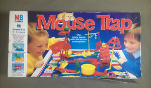 Mouse Trap - Vintage 1996 Milton Bradley Board Game - Missing Yellow Mouse.