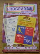 """Jan-2006 programma MENSILE & da collezione: la voce del """"programma di calcio"""" COLL"""