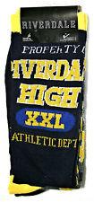 2 Pair Riverdale High WB TV Series Socks Fits Shoe sz 6-12 New Tag