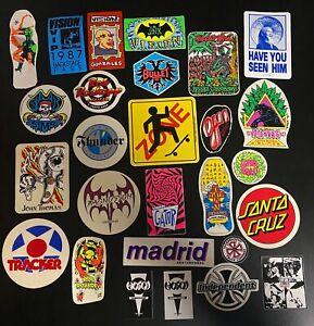 80's Skateboard Sticker Lot