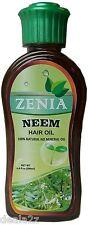 200ml Zenia Neem Hair Oil 100%natural No Mineral Oil No Chemical for Hair Loss