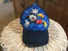 Pre Owned Disney Toddler Mickey Mouse Hat.