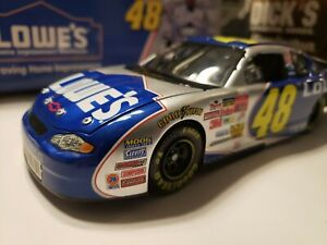 "2002 #48 Jimmie Johnson Lowe's ""Rookie"" 1/24 Action Diecast"