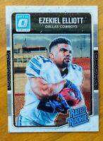 2016 Donruss Optic Ezekiel Elliott RC, Cowboys Rookie!