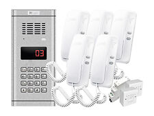 Intercom WL-03NL uniphone x 5 Door Phone Genway KIT