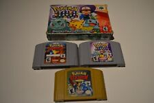 Pokemon Sammlung ,Pokemon Stadium 1,2 ,Puzzle League , Nintendo 64 , USA , NTSC