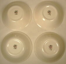 "NOEL ENGLAND FOUR 6 1/2"" BOWLS CHRISTMAS HOLLY CHILDREN"