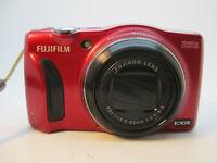 Fujifilm FinePix F Series F850EXR 16.0MP Digital Camera - Red WORKING GREAT!