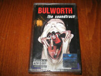 BULWORTH THE SOUNDTRACK MADE IN BULGARIA CASSETTE Bulgarian Edition New Rare
