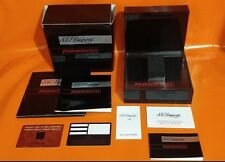 DUPONT LIGHTER ABSTRACTION RARE BOX + BOOKLETS + WARRANTY CARD - OFFERS WELCOME