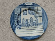 """DELFT HOLLAND METROPOLITAN MUSEUM OF ART MONTH OF THE YEAR February PLATE 9"""" MMA"""