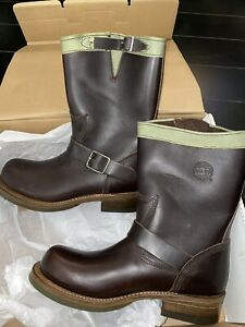 RARE AUTHENTIC NEW ENGINEER BOOTS HOLLYWOOD TRADING COMPANY SANTA ROSA