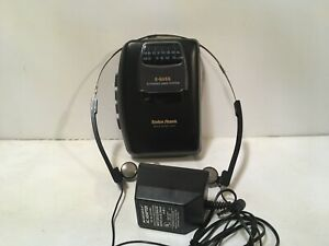 Radio Shack SCP-57 Sport AM/FM Radio Portable Cassette Player Earbuds Adapter