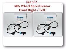 Set 2 ABS Wheel Speed Sensor Front-Right & Left Fits: Chevrolet GMC Trucks & SUV