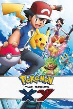 24x36 Pokemon XY Poster fea Ash Ketchum Pikachu