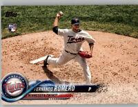 (15) Fernando Romero 2018 Topps Update BASE CARD LOT (x15) Twins Rookie #US174
