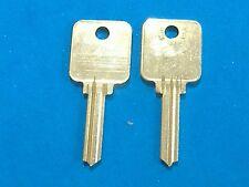 TWO KEY BLANKS FIT MEDECO LOCKS #1655  FIRE KING 5-PIN