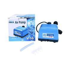 AquaForte Belüftungspumpe Hi-Flow V-10 Luftpumpe Membranpumpe Teichbelüfter