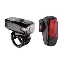 Lezyne KTV Drive Pair Bike Bicycle Lights - USB Rechargeable - RRP£37.99