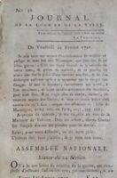 Saint Ambroix en 1791 Gard Royaliste Protestant Cambrai Comte Lamarck Orchies