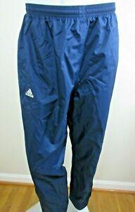 Adidas Mens Scorch Climaproof Stadium Waterproof Pants Navy Blue New Ships Free