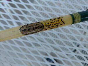 "Vintage Shakespeare Wonderod No. 1562XL-6'-6"" Model FCH 2pc Casting Rod. Nice!"