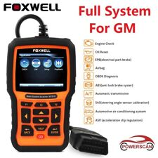 AUTO DIAGNOSTIC SCANNER ABS SRS AIRBAG EPB DPF ALL SYSTEM FOXWELL NT510 FOR GM